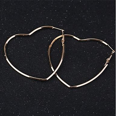 نسائي أقراط طارة نجمة كلاسيكي أساسي الأقراط مجوهرات ذهبي من أجل مناسب للبس اليومي مناسب للعطلات