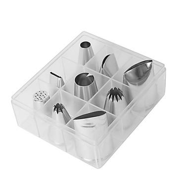 9PCS الالومنيوم الفولاذ المقاوم للصدأ قادم جديد 3D اصنع بنفسك Everyday Use لأواني الطبخ أدوات المطبخ الحديثة أدوات حلوى أدوات خبز