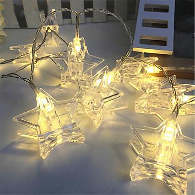 3M أضواء سلسلة 20 المصابيح أبيض دافئ / RGB ديكور بطاريات تعمل بالطاقة 1PC