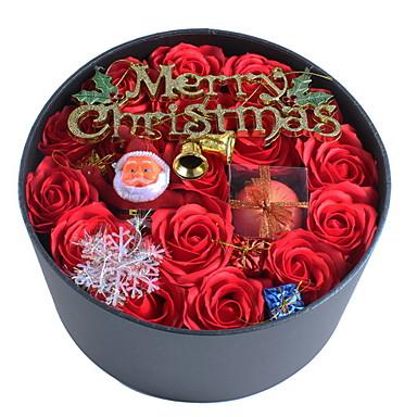 عطلة زينة كريستمس عيد الميلاد الحلي تصميم خاص / محبوب أحمر 1PC