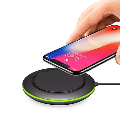 chargeur rapide sans fil 10w 5w pour iphone xs iphone xr xsmax iphone 8 samsung s9 plus