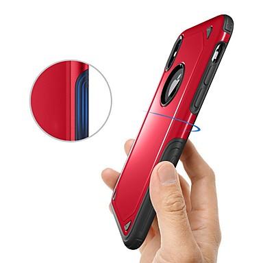 voordelige iPhone 6 hoesjes-hoesje Voor Apple iPhone X / iPhone 8 Plus / iPhone 8 Schokbestendig Achterkant Schild Hard TPU
