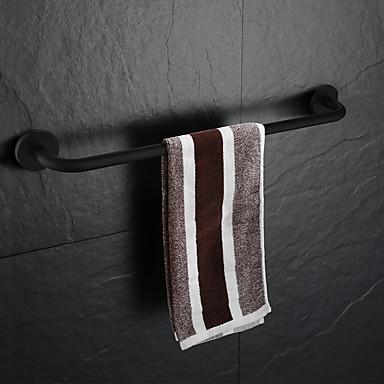 قضيب المنشفة تصميم جديد تقليدي الفولاذ المقاوم للصدأ / الحديد حمام مثبت على الحائط