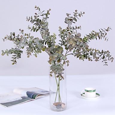 زهور اصطناعية 3 فرع كلاسيكي فردي زهري الحديث المعاصر نباتات الزهور الخالدة أزهار الطاولة