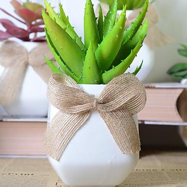 زهور اصطناعية 1 فرع كلاسيكي الحديث النباتات العصارية أزهار الطاولة