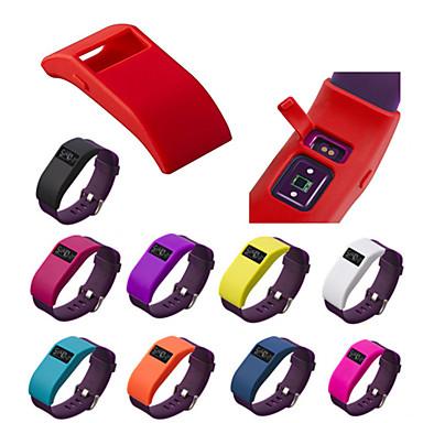 Недорогие Аксессуары для смарт-часов-Кейс для Назначение Fitbit Fitbit Charge HR силикагель Fitbit