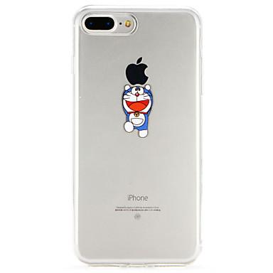 غطاء من أجل Apple iPhone X / iPhone 8 Plus / iPhone 8 نحيف جداً غطاء خلفي كارتون ناعم TPU