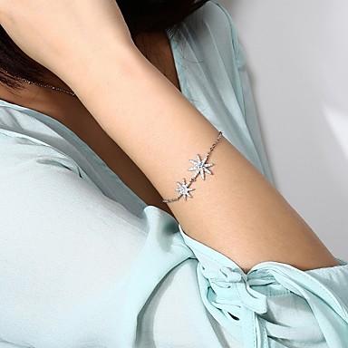 Damen Ketten- & Glieder-Armbänder Einzelkette Gleichgewichtspunkt Stern Nordstern damas Romantisch Koreanisch Süß Aleación Armband Schmuck Gold / Silber Für Alltag Festival