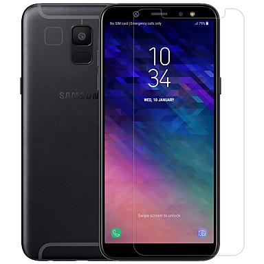 Nillkin حامي الشاشة إلى Samsung Galaxy A6 (2018) زجاج مقسي / PET 1 قطعة الجبهة والكاميرا عدسة حامي (HD) دقة عالية / 9Hقسوة / انفجار برهان