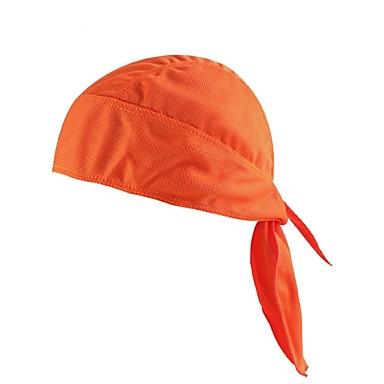 ieftine Căști-Caps Skull Șapcă Rag Culoare solidă Ușor Rezistent la UV Respirabil Ciclism Confortabil la umezeală Bicicletă / Ciclism Albastru Gri Kaki Poliester Elastan pentru Bărbați Pentru femei Adulți Camping