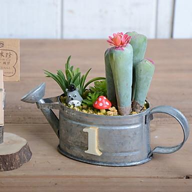 زهور اصطناعية 1 فرع كلاسيكي زهري النباتات العصارية أزهار الطاولة
