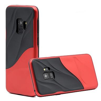 Недорогие Чехлы и кейсы для Galaxy S-Кейс для Назначение SSamsung Galaxy S9 / S9 Plus / S8 Plus Защита от удара Кейс на заднюю панель Полосы / волосы Мягкий ТПУ