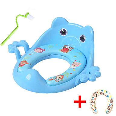 قعادة للأطفال / تصميم جديد / مع فرشاة تنظيف العادي / الحديث PP / ABS + PC 1PC ديكور الحمام