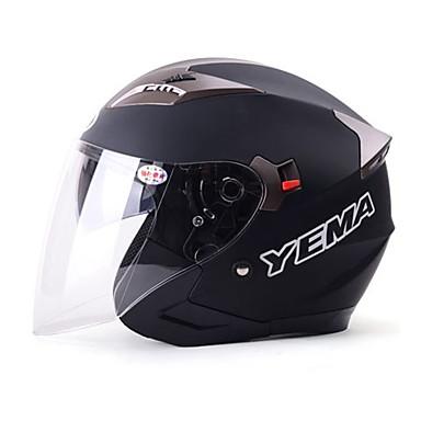 YEMA 627 نصف خوذة بالغين للجنسين دراجة نارية خوذة ضد الصدمات / ضد UV / ضد الهواء