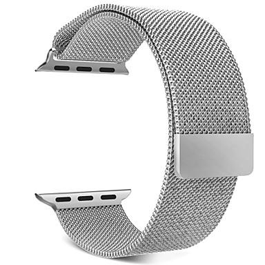 حزام إلى Apple Watch Series 4/3/2/1 Apple عصابة الرياضة / عقدة ميلانزية ستانلس ستيل شريط المعصم