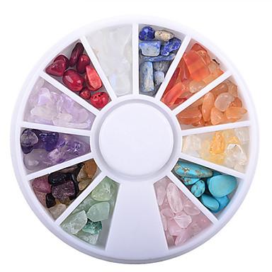 1 pcs غني بالألوان فن الأظافر تجميل الأظافر والقدمين ملبس يومي أنيق / Victoria Style