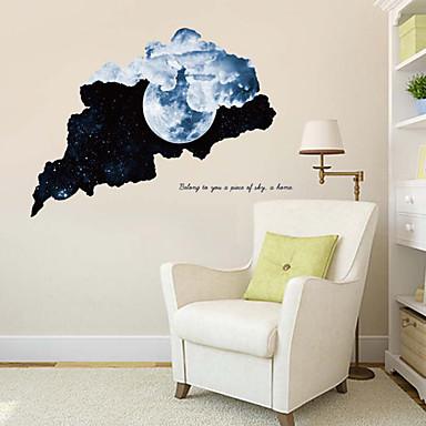لواصق حائط مزخرفة - لواصق حائط الطائرة مناظر طبيعية غرفة الجلوس / غرفة النوم / دورة المياه
