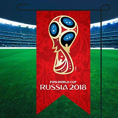 عطلة زينة كأس العالم كائنات ديكور تصميم خاص / العالم أحمر 1PC