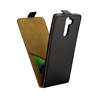 Недорогие Чехлы и кейсы для Nokia-Кейс для Назначение Nokia 8 Sirocco Бумажник для карт / Флип Чехол Однотонный Твердый Кожа PU