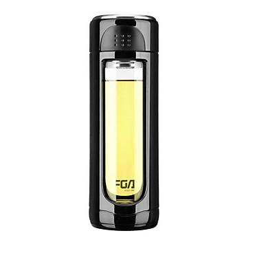 DRINKWARE البورون، بارومتر زجاج / كأس فراغ المحمول / الاحتفاظ بالحرارة / العزل الحراري 1 pcs