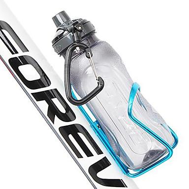 دراجة هوائية زجاجة المياه كيج عدم اسقاط قابلة للطى سترة واقيه من أجل ركوب الدراجة دراجة الطريق دراجة جبلية للجنسين Aluminum Alloy أسود أحمر أزرق 1 pcs