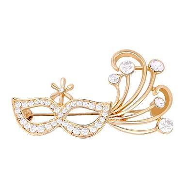 نسائي دبابيس عيون أنيق بروش مجوهرات ذهبي فضي من أجل هدية مناسب للبس اليومي