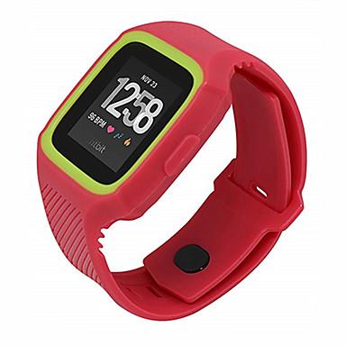 voordelige Smartwatch-accessoires-Horlogeband voor Fitbit Versa Fitbit Sportband / Moderne gesp Silicone Polsband
