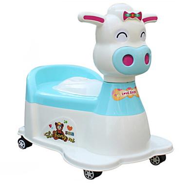 قعادة واقف الأرض / للأطفال / تصميم جديد معاصر / العادي / كرتون PP / ABS + PC 1PC اكسسوارات المرحاض / ديكور الحمام