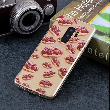 غطاء من أجل Samsung Galaxy S9 / S9 Plus / S8 Plus IMD / نموذج غطاء خلفي فاكهة ناعم TPU