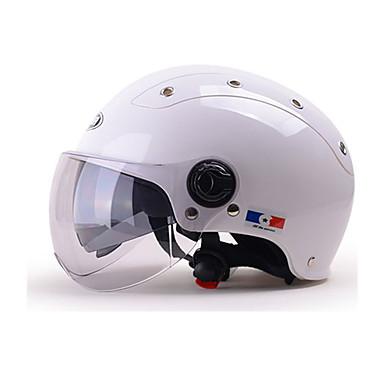 YEMA 332 نصف خوذة بالغين للجنسين دراجة نارية خوذة ضد الصدمات / ضد UV / ضد الهواء