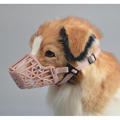 تدريب الكلاب التنظيف جهاز مكافحة اللحاء محمول قابل للطي كلاب المحمول متنفس قابلة للطى بلاستيك أدوات تصحيح السلوك للحيوانات الأليفة / الأمان