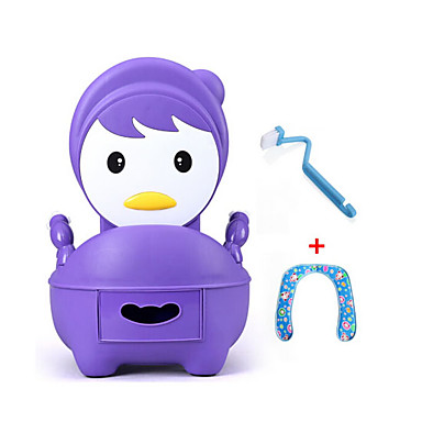 قعادة للأطفال / تصميم جديد / متعددة الوظائف العادي / كرتون / الحديث المعاصر PP / ABS + PC 1PC ديكور الحمام