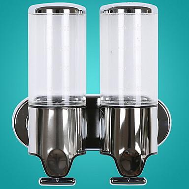 آلة الصابون Smart / تصميم جديد / أوتوماتيكي معاصر الفولاذ المقاوم للصدأ / ABS + PC 1PC - حمام مثبت على الحائط