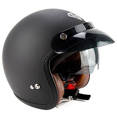 YOHE YH-859 وجه مفتوح بالغين للجنسين دراجة نارية خوذة متنفس / مزيل عرق / المضادة للعرق
