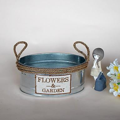 زهور اصطناعية 1 فرع كلاسيكي النمط الرعوي المزهرية أزهار الطاولة / واحدة زهرية