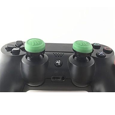 Controladores de jogo Thumb Stick Grips Para PS4 / PS4 Magro / PS4 Prop ,  Controladores de jogo Thumb Stick Grips Silicone 1 pcs unidade