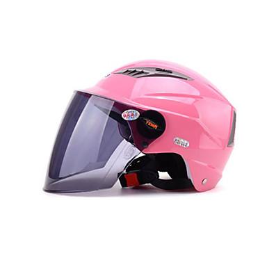 YEMA 326 نصف خوذة بالغين للجنسين دراجة نارية خوذة ضد الصدمات / ضد UV / ضد الهواء