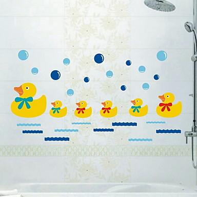 لواصق حائط مزخرفة - لواصق حائط الطائرة حيوانات غرفة النوم / دورة المياه / قابل للنقل