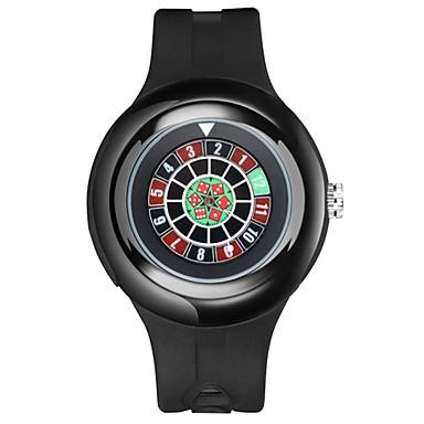 رجالي ساعة المعصم ياباني كوارتز مطاط أسود 30 m مقاوم للماء الكرونوغراف مقاومة الصدمات رقمي إبداعي كوول - أسود سنتان عمر البطارية