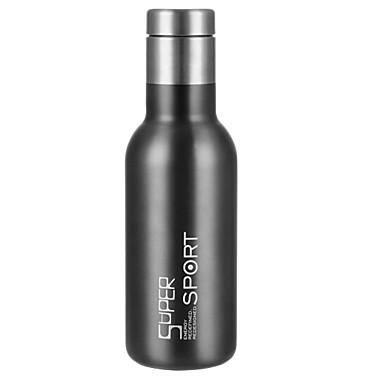 DRINKWARE PP+ABS / غير قابل للصدأ الحديد كأس فراغ المحمول / الاحتفاظ بالحرارة / العزل الحراري 1 pcs