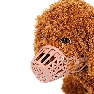 كلاب قطط حيوانات أليفة صغيرة الكمامات تدريب لون سادة البلاستيك زهري هاسكي لابرادور Malamute ألاسكا المسترد الذهبي دالميشين الكولي الحدود