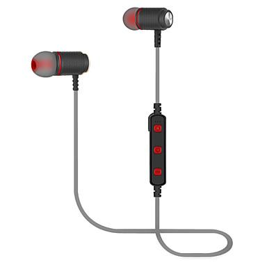 JTX 740 سماعة رأس حول الرقبة بلوتوث 4.2 الرياضة واللياقة البدنية بلوتوث 4.2 مع ميكريفون مع التحكم في مستوى الصوت مغناطيس الجذب