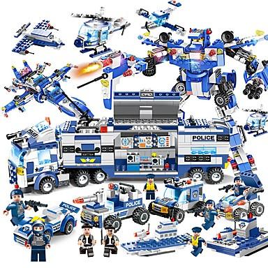 أحجار البناء مجموعة ألعاب البناء ألعاب تربوية 825 pcs سيارات متوافق Legoing يخفف أد، أدهد، والقلق والتوحد ضغط اللعب التفاعل بين الوالدين والطفل للصبيان للفتيات ألعاب هدية