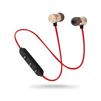 سماعة رأس حول الرقبة لاسلكي الهاتف المحمول بلوتوث 4.2 مع ميكريفون مع التحكم في مستوى الصوت
