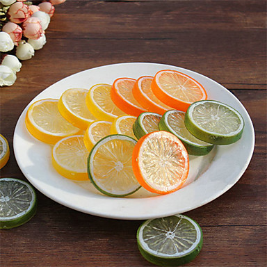 20pcs ادوات المطبخ بلاستيك بسيط / جميل أدوات للفاكهة / برتقالي