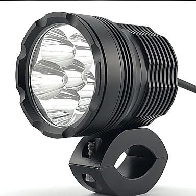 Недорогие Фары для мотоциклов-1 шт. Высокое качество супер яркий свет 60w 6000lm cnc 6063-t6 aluminium мотоцикл прожектор фара свет