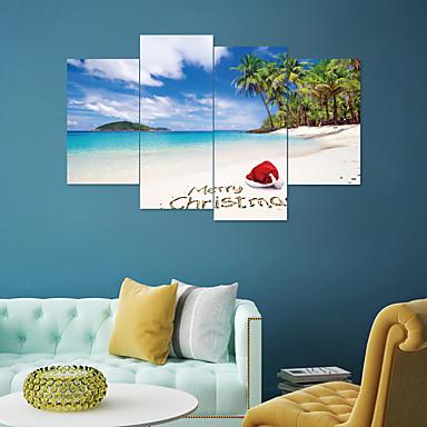 لواصق حائط مزخرفة - لواصق حائط الطائرة مناظر طبيعية / كريستمس غرفة الجلوس / غرفة النوم / دورة المياه