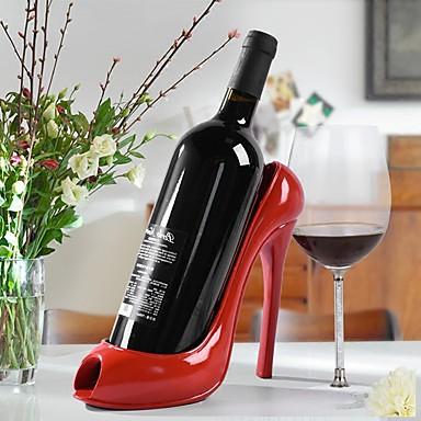 1PC راتينج رفوف النبيذ كلاسيكي الجدة الإبداعية خمر إكسسوارات إلى برواري