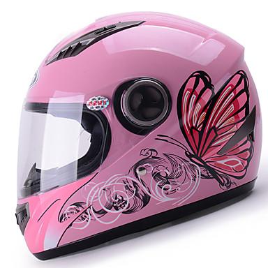 YEMA 827 وجه كامل بالغين للجنسين دراجة نارية خوذة ضد الصدمات / ضد UV / ضد الهواء