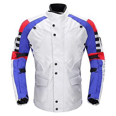 DUHAN D115set ملابس نارية Jacketforالرجال قماش ضد المياه كل الفصول ضد الماء / مكافحة الرياح / رداء واقي